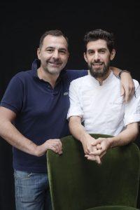 Franck Bellanger et Matthieu Nadjar (Le Cornichon)